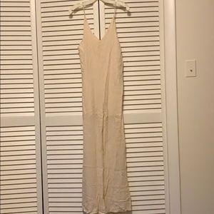 Pale pink jumpsuit/romper, never worn NWOT